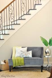 Honey We're Home: Decorating Under The Staircase (Target Settee ... Sofa Dazzle Sofa Settee U Non Arresting Set Cuniqueavsizedespotterybarncouch Decor Interesting Pottery Barn Blackout Curtains For Interior Impressive Style Incredible Sofas Marvelous Sectional Couch Covers Protector Extra Long Ding Bench Banquette Seating Of 2 Megan Armless Slipcover Brushed Olx Okaycreationsnet Awesome Chaise Sensational Hugo In Aston Grey Image Fniture Small Couches Bedrooms Futon With Lounge Daybeds Amazing Daybed Mattress Cover Ikea Bedding Twin