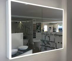 spiegelschrank illuminato keller breite 150 cm 3 türig