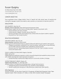 100 Education On A Resume College Graduate Example And Writing Tips