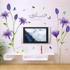 wandbild 160x85 cm wandsticker lliy blüten poster pflanzen