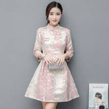 chinois cheongsam traditionnelle robe moderne qipao robes d