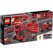 100 Ferrari Truck Galleon LEGO Speed Champions F14 T Scuderia 75913