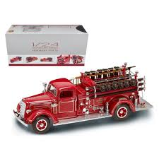 100 Mack Truck Accessories New 1938 Type 75 Fire Engine Red With 124 Diecast