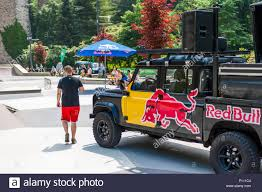 Redbull Truck During The Acrobatics Event, Luxembourg Stock Photo ...