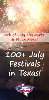 July Festivals And Events In Texas