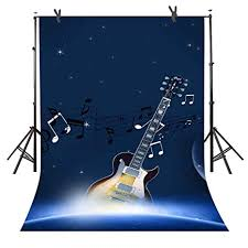Photography Backdrops Music Background For Party Photo Banner Event Decorations Props Children Baby Newborn Photocall