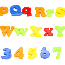 Magnetic Alphabet Letters Numbers Learning Toy 78Pcs