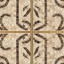Brown Floor Tiles Kitchen Mosaic Ancient Rome Tile Texture Seamless Hr Plus Great Decorating