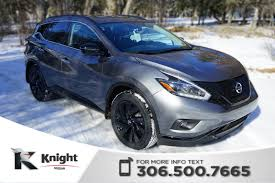 New 2018 Nissan Murano Midnight Edition Sport Utility Near Moose Jaw ... 2018 Nissan Murano For Sale Near Fringham Ma Marlboro New Platinum Sport Utility Moose Jaw 2718 2009 Sl Suv Crossover Mar Motors Sudbury Motrhead Pinterest Murano And Crosscabriolet Awd Convertible Usa In Sherwood Park Ab Of Course I Had To Pin This Its What Drive Preowned 2017 4d Elmhurst 2010 S A Techless Mud Wrangler Roadshow 2011 Sv 5995 Rock Auto Sales