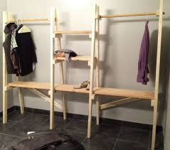 Free Closet Organizer Plans by Best 25 Freestanding Closet Ideas On Pinterest Diy Clothes