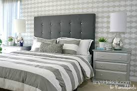 Ana White Upholstered Headboard by Impressive Diy Bed Headboard Ana White Hailey Planked Headboard