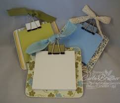 These Were Most Definitely A Best Seller At The Craft Show Last Weekend Mini Clipboards Are So Fun And Easy To Make Really O