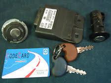 Electronic Ignition Unit ECU ICU Controller Keys Locks 2009 Vespa LX150
