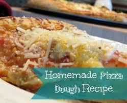 Homemade Pizza Dough Recipes