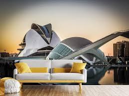fototapete futuristische architektur