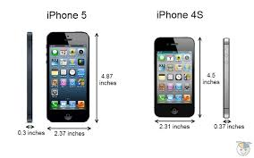 iPhone 5 vs iPhone 4S how the specs pare Geek