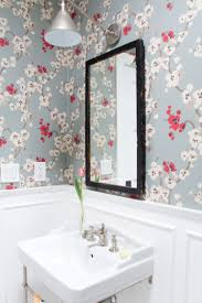 White Walls With Decorative Molding And Floral Wallpaper | J. Kurtz ... How Bathroom Wallpaper Can Help You Reinvent This Boring Space 37 Amazing Small Hikucom 5 Designs Big Tree Pattern Wall Stickers Paper Peint 3d Create Faux Using Paint And A Stencil In My Own Style Mexican Evening Removable In 2019 Walls Wallpaper 67 Hd Nice Wallpapers For Bathrooms Ideas Wallpapersafari Is The Next Design Trend Seashell 30 Modern Colorful Designer Our Top Picks Best 17 Beautiful Coverings