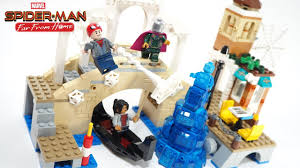 100 Lego Space Home SpiderMan Far From HydroMan Attack Stop Motion Build Review 2019 Set 76129