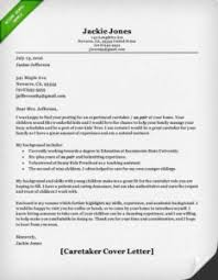 Caregiver Cover Letter Example