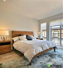 chambre bois massif contemporain design d intérieur lit contemporain bois chambre style et rustique
