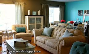 Brown And Aqua Living Room Decor by Guest Post My Champagne Taste S T A R D U S T Decor U0026 Style