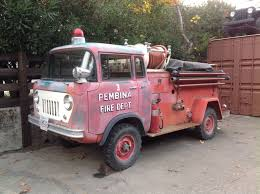 100 Fire Trucks Unlimited 1959 FC 170 Willys America Private Museum Collection Willys