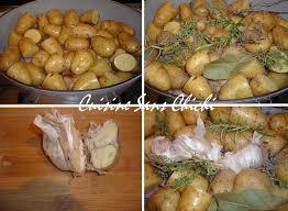 cuisiner des pommes de terre ratte lapin au four et pommes de terre rattes confites