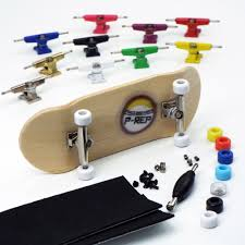 P-REP NOLO 34mm Bamboo Complete Wooden Fingerboard - Pick Trucks And ...