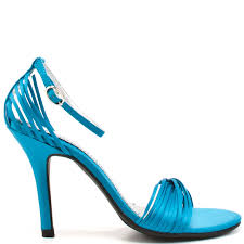 chinese laundry u0027s blue willy heel teal satin for 55 99 direct