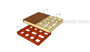 floating queen size platform bed plans howtospecialist how to