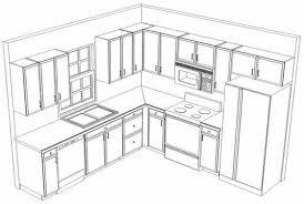 Drawn Kitchen Simple 4