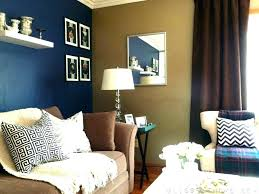 Blue Accent Wall Living Room Navy In Bedroom Walls