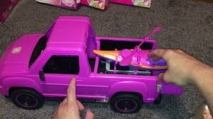 Barbie Camping Fun Truck Review - YouTube Barbie Camping Fun Suvtruckcarvehicle Review New Doll Car For And Ken Vacation Truck Canoe Jet Ski Youtube Amazoncom Power Wheels Lil Quad Toys Games Food Toy Unboxing By Junior Gizmo Smyths Photos Collections Moshi Monsters Ice Cream Queen Elsa Mlp Fashems Shopkins Tonka Jeep Bronco Type Truck Pink Daisies Metal Vintage Rare Buy Medical Vehicle Frm19 Incl Shipping Walmartcom 4x4 June Truck Of The Month With Your Favorite Golden Girl Rc Remote Control Big Foot Jeep Teen Best Ruced Sale In Bedford County