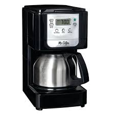 Mr Coffee 4 Cup Maker Walmart Advanced Brew 5 Programmable With Stainless Steel Carafe