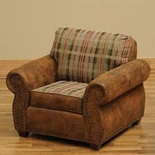 Fireside Lodge Furniture WDCH38 Burly Upholstered Accent Chair