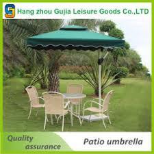Aluminum Waterproof Convenient Detachable Double Roof Garden Umbrellas