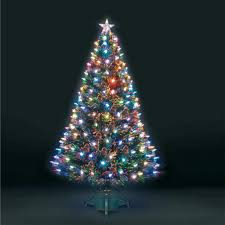 Walmart Christmas Trees Pre Lit by Christmas Christmas Led Tree Multi Color Light Show Cone Lighted