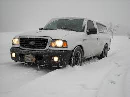 100 Trucks In Snow And They Told Me Lowered Street Trucks Cant Do Snow RangerForums