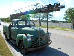 Take You Higher: 1951 Chevy Ladder Truck