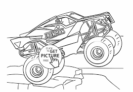 28+ Collection Of Monster Truck Drawing Side View | High Quality ...
