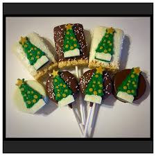 Rice Krispie Christmas Tree Pops by Christmas Tree Chocolate Covered Oreos Oreo Pops And Rice