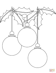 Click The Christmas Ball Ornaments Coloring Pages