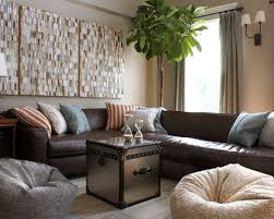 nice dark brown sectional living room ideas best brown sectional
