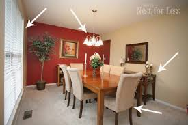 Red Accent Wall Groundball Dining Room Before Impressive Favorite 640 427 75 Kb