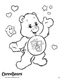 Surprise Someone Special Today By Coloring Bear In This Page From AGKidZone