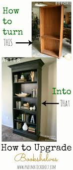How To Upgrade An Ugly Oak Bookshelf To Look Like A Pottery Barn ... Barn Bookshelf Guidecraft G98058 How To Make Wall Shelves Industrial Pipe And Wal Lshaped Desk With Lawyer Loves Lunch Build Your Own Pottery Closed Bookshelf With Glass Front Lift Doors Like A Library Hand Crafted Reclaimed Wood By Taj Woodcraft Llc Toddler Bookcases Pottery Barn Kids Wood Bookcase Fniture Home House Bookcase Unbelievable Picture Units Glamorous Tv Shelf Bookcasewithtv Kids Wooden From The Teamson Happy Farm Room Excellent Ladder Photo Ideas Tikspor Ana White Diy Projects