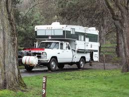Old Pickup Truck Campers, Vintage Truck Camper | Trucks Accessories ...