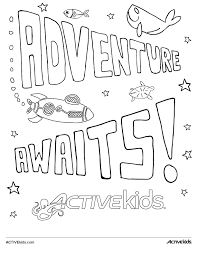 Unleash Your Childs Inner Artist With The ACTIVEkids Coloring