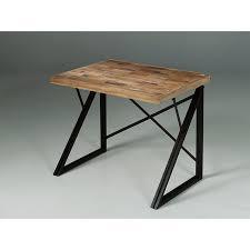 bureau bois recyclé bureau style loft idées déco pour la maison meuble en teck