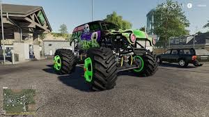 100 Monster Truck Simulator Grave Digger Monster Truck V10 For Farming 2019 Farming